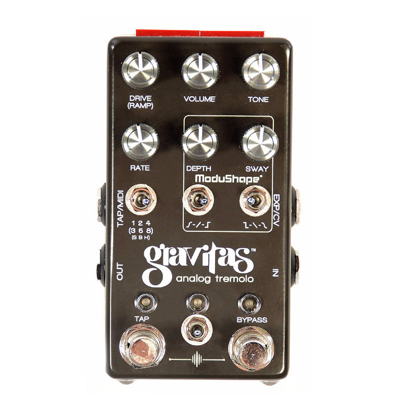 Chase Bliss Audio - Gravitas Analog Tremolo