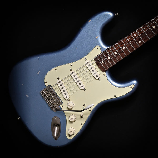 NashGuitars S63 in Ice Blue Metallic