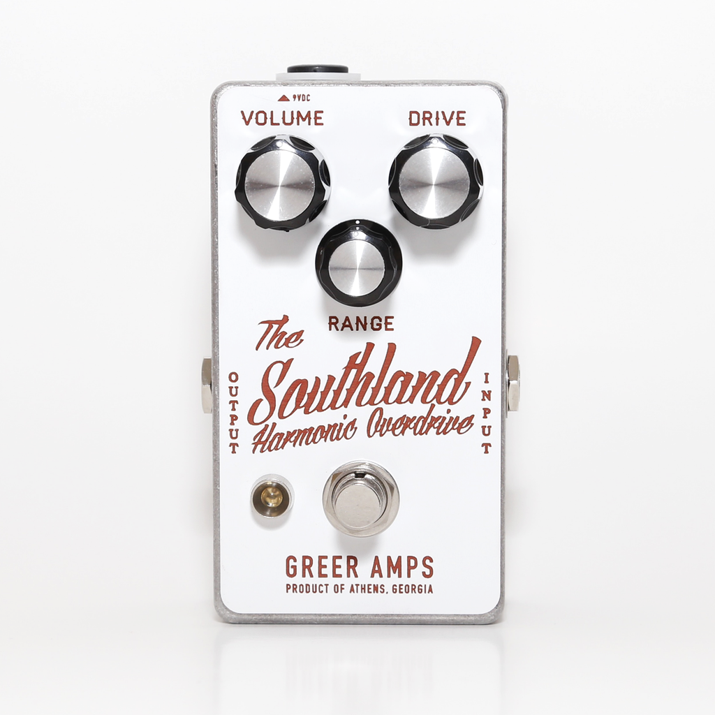 Greer Amps - Southland Harmonic Overdrive - White