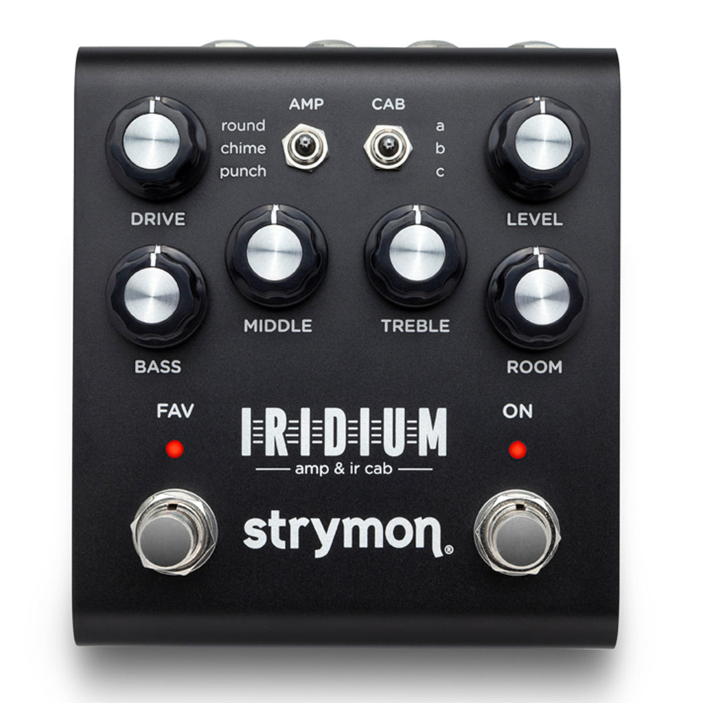 Strymon Iridium – Amp & IR Cab Pedal (Available Now!!!)