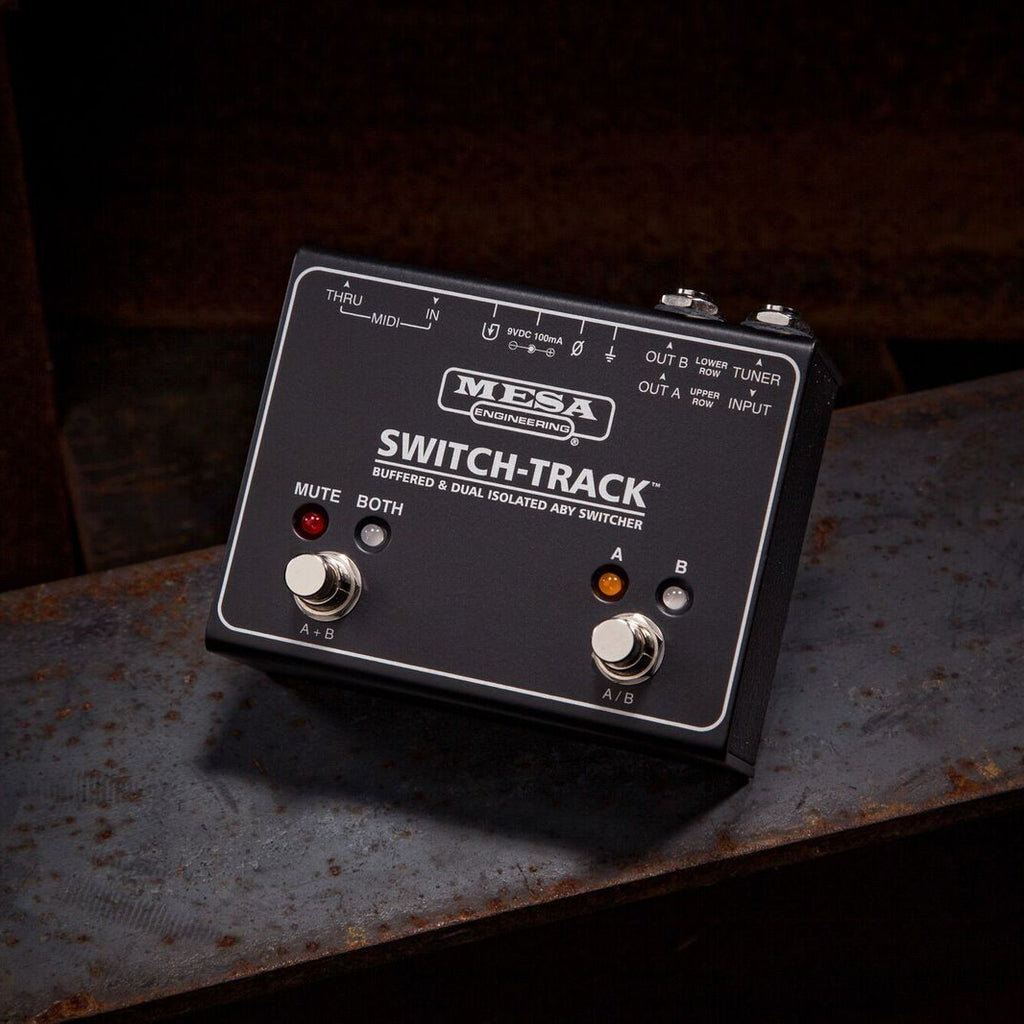 MESA/Boogie Switch-Track Buffered & Dual Isolated ABY Switcher