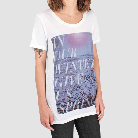 'In Our Winters' Womens T-Shirt