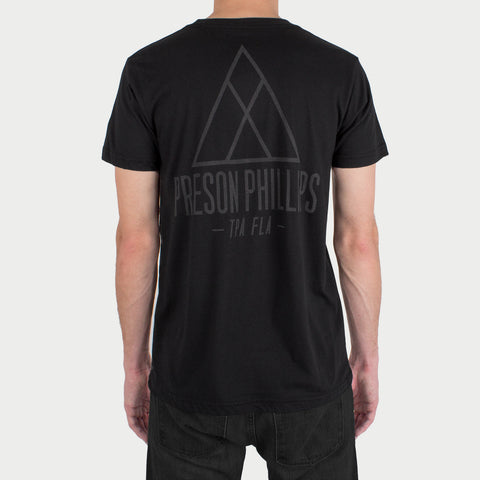 'Triangle' T-Shirt w/ reflective ink!