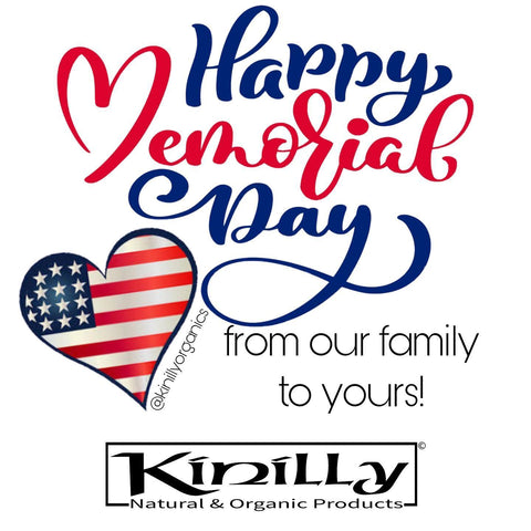 Happy Memorial Day from Kinilly.com
