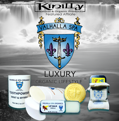 Kinilly Featured Affiliate Valhalla Spa Organics