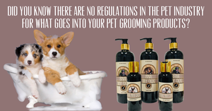 Organic Pet Shampoo made by people who care about your pets