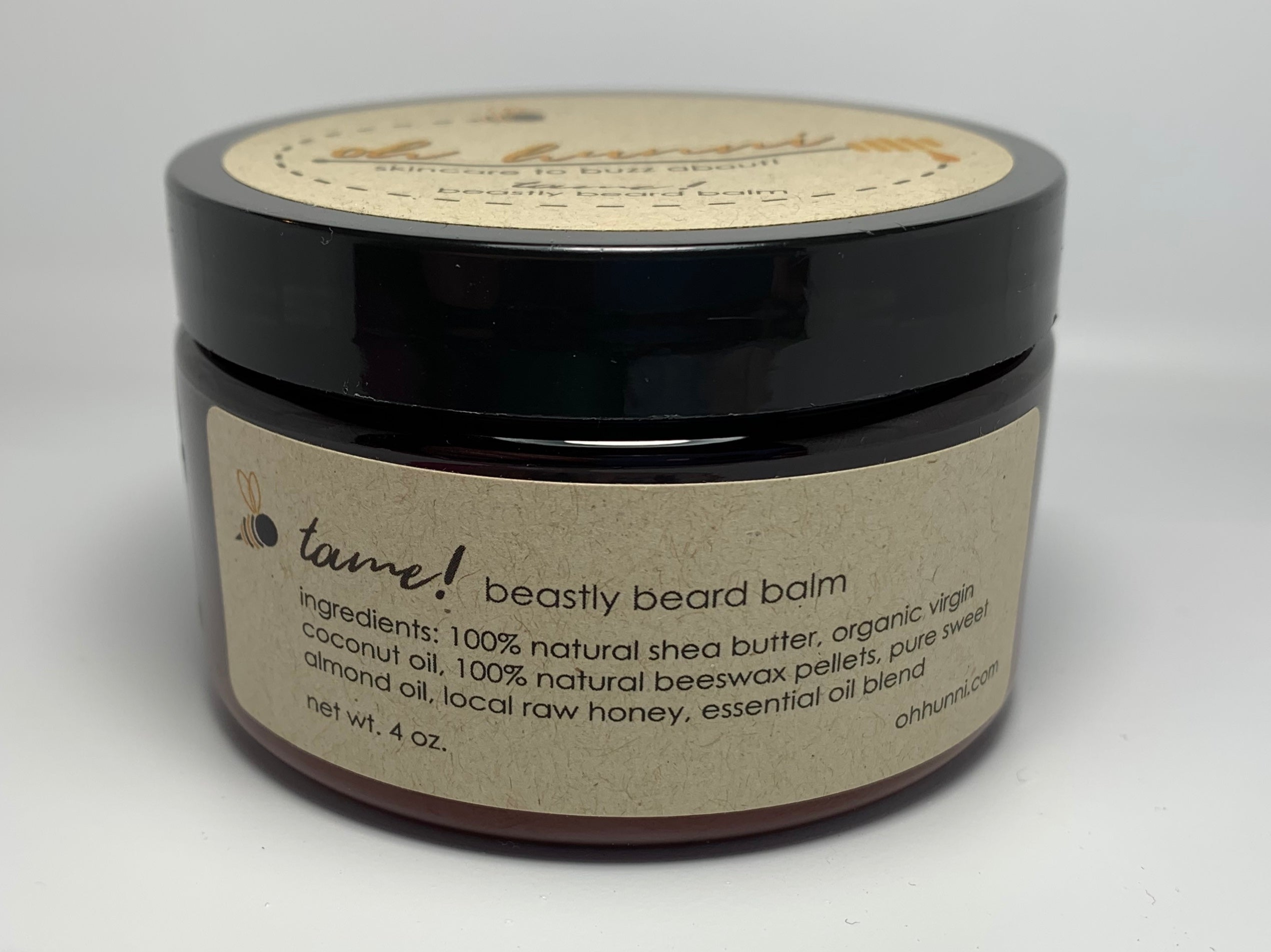 Organic and All Natural Beard Balm