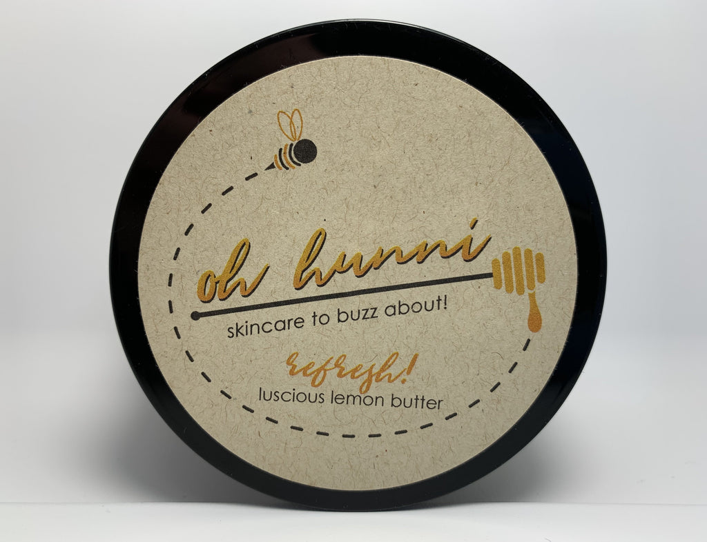 All Natural Refresh Luscious Lemon Body Butter