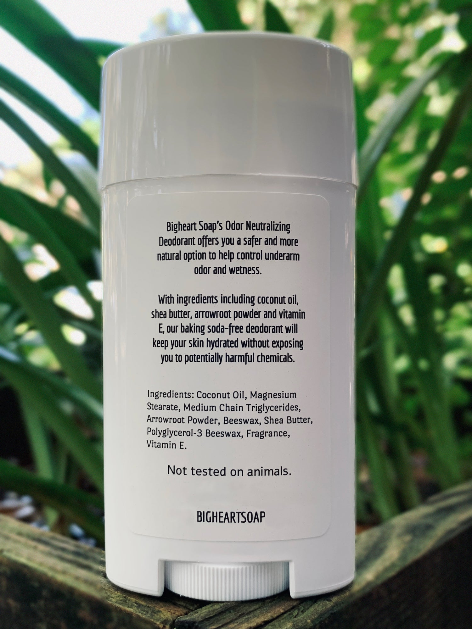 Aluminum-Free Deodorant with All Natural Ingredients