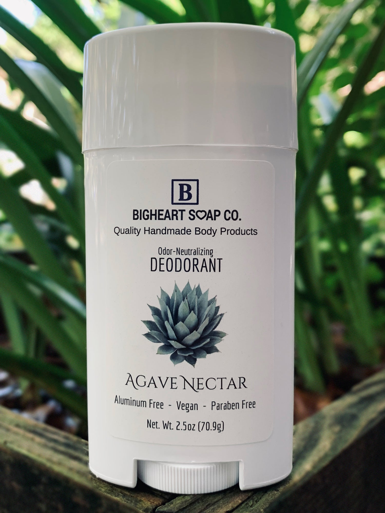 Agave Nectar All Natural Deodorant