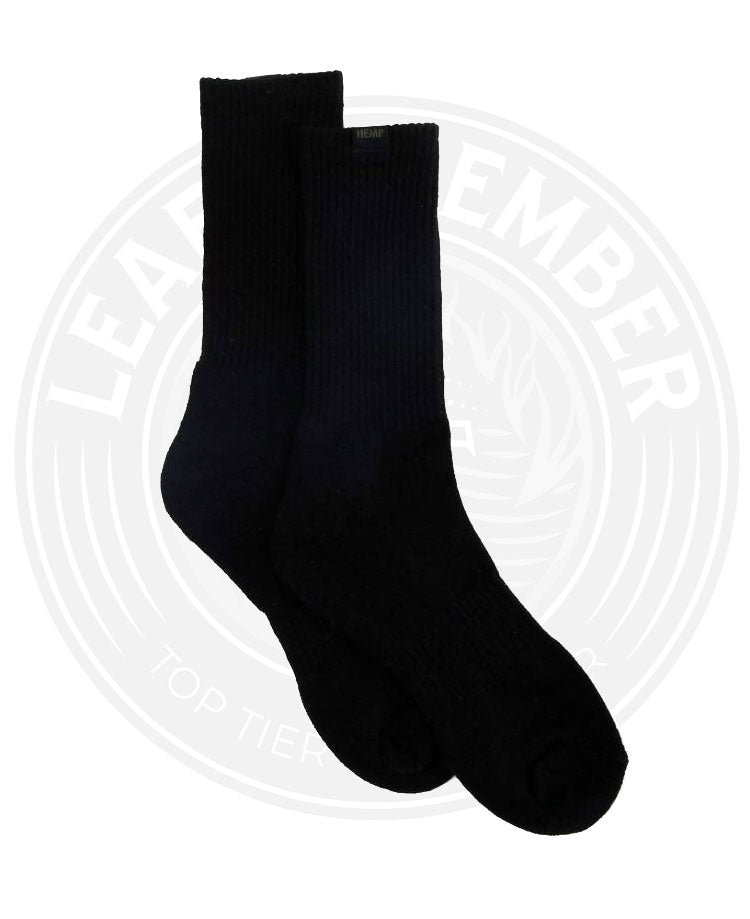 All-Natural Hemp & Organic Cotton Crew Socks