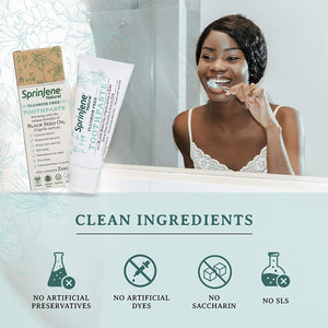 natural toothpaste with clean ingredients