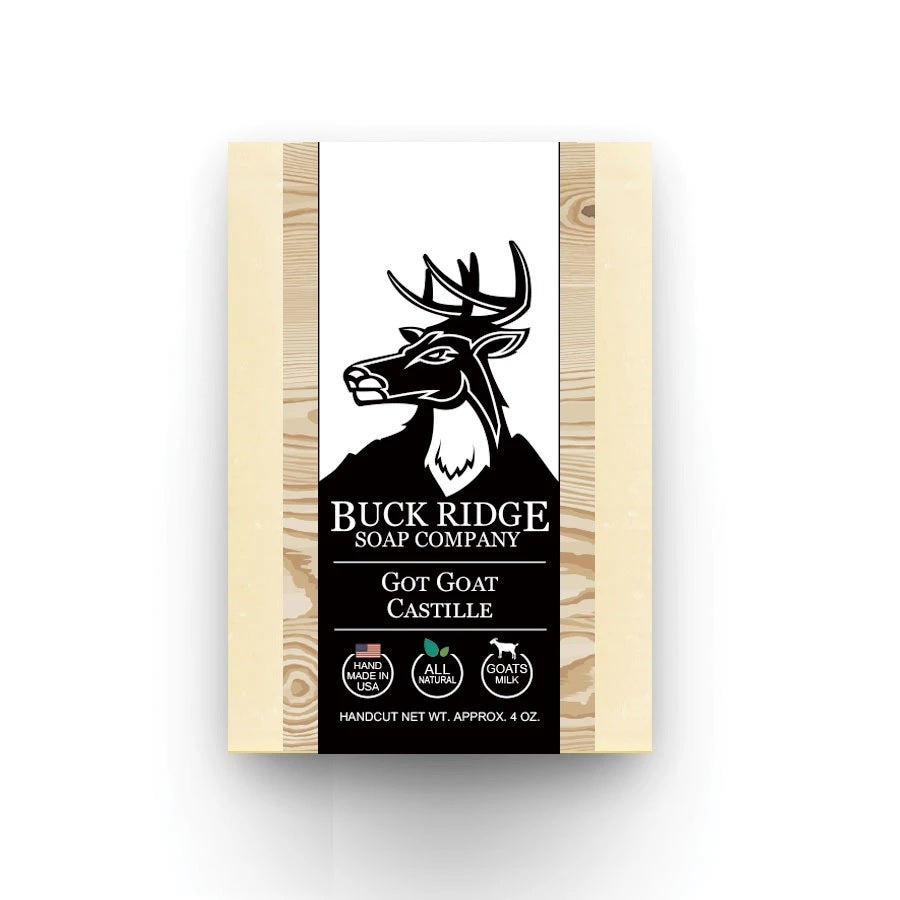 Pure Natural Goat's Milk UNSCENTED Castille Soap Bar