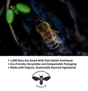 #SaveTheBees Save 1,000 Bees with Every Purchase, Eco-friendly