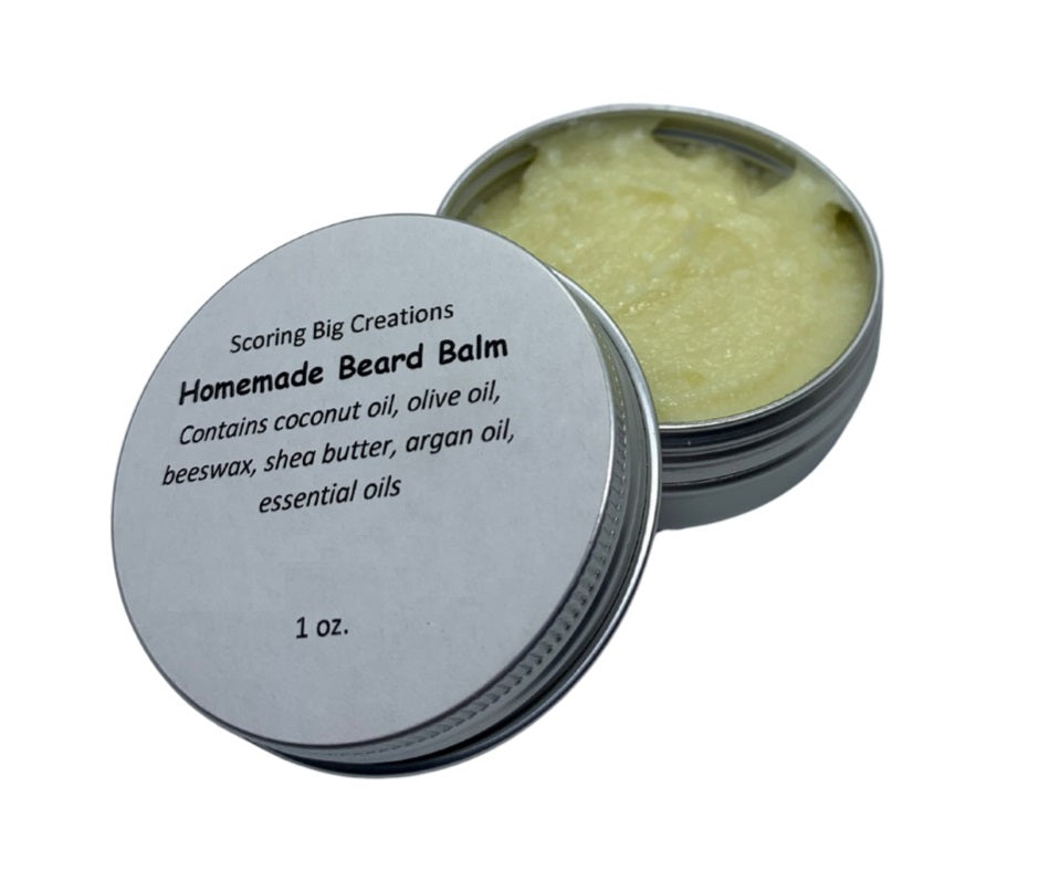 Natural Homemade Beard Balm