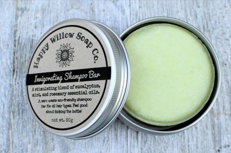 Invigorating Shampoo Bar with Tin
