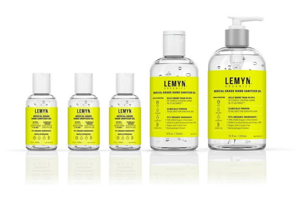 Lemyn™ Organics Natural Hand Sanitizer