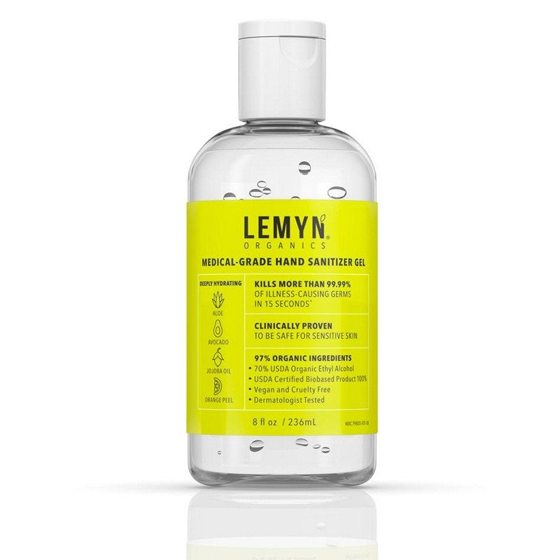 Lemyn™ Organics 8oz USDA BioPreferred Hand Sanitizer