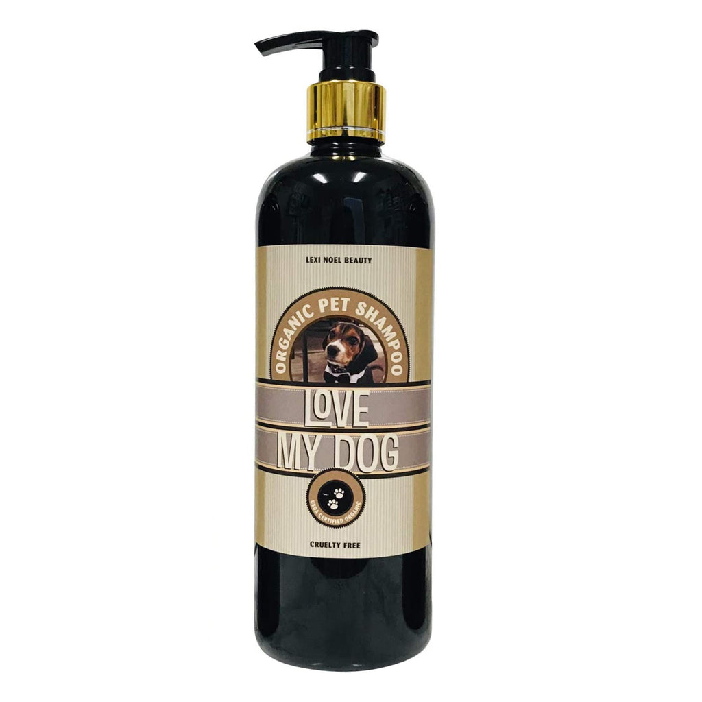Love My  Dog Organic Pet Shampoo by Lexi Noel