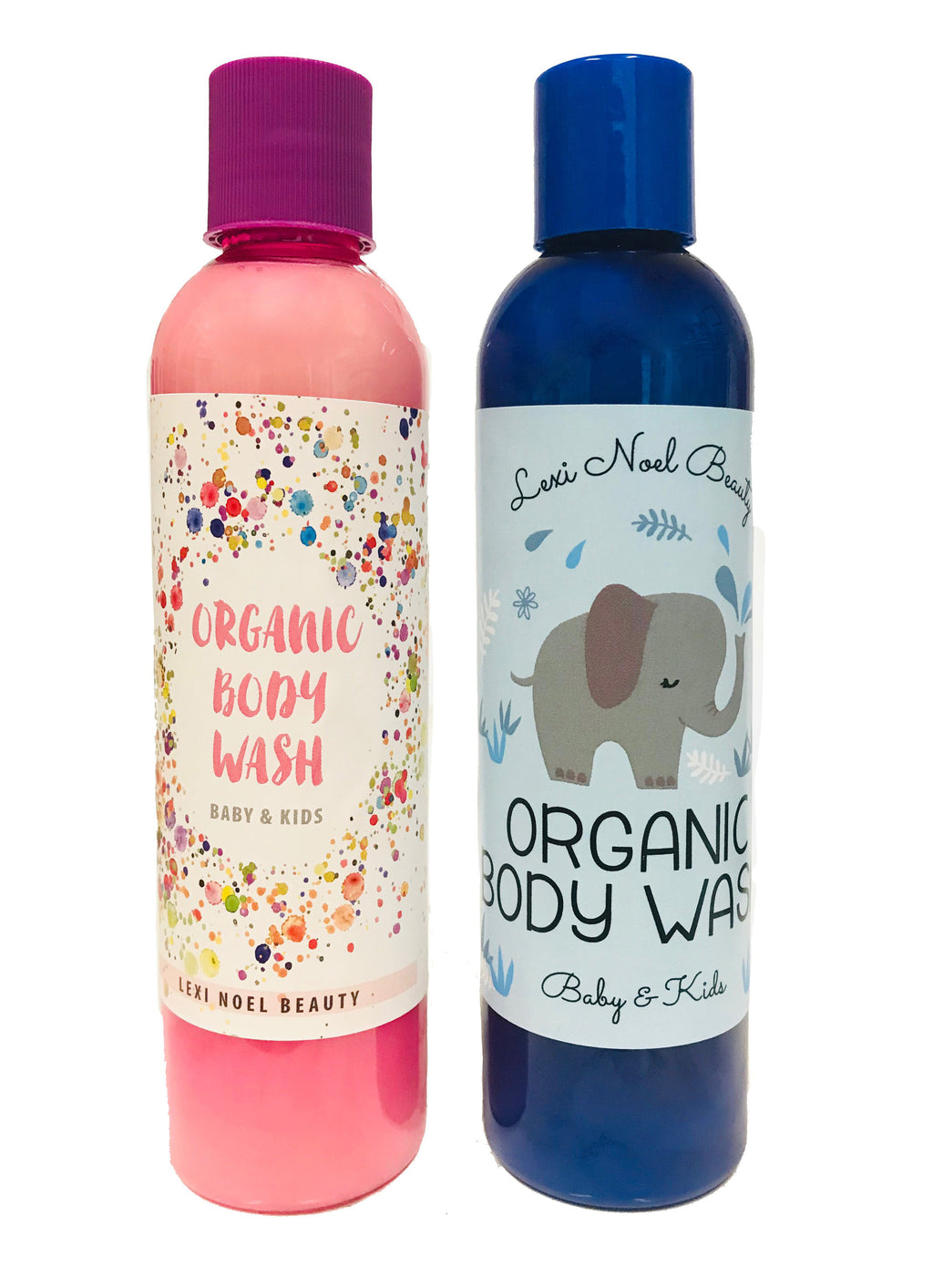 Lexi Noel Organic Body Wash for Kids & Babies