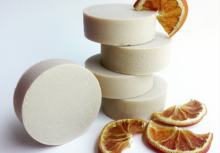 Orange Pumice Soap Bar