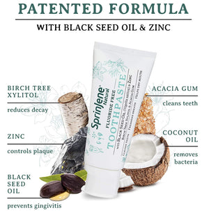 Natural Toothpaste with a Patented Formula