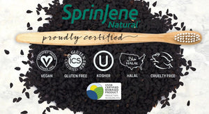 SprinJene Natural Toothpaste Certifications