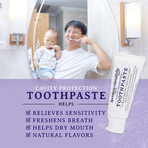 Natural Toothpaste with Cavity Protection