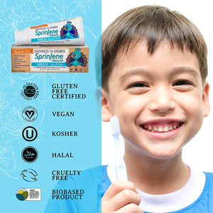 All Natural Toothpaste for Kids