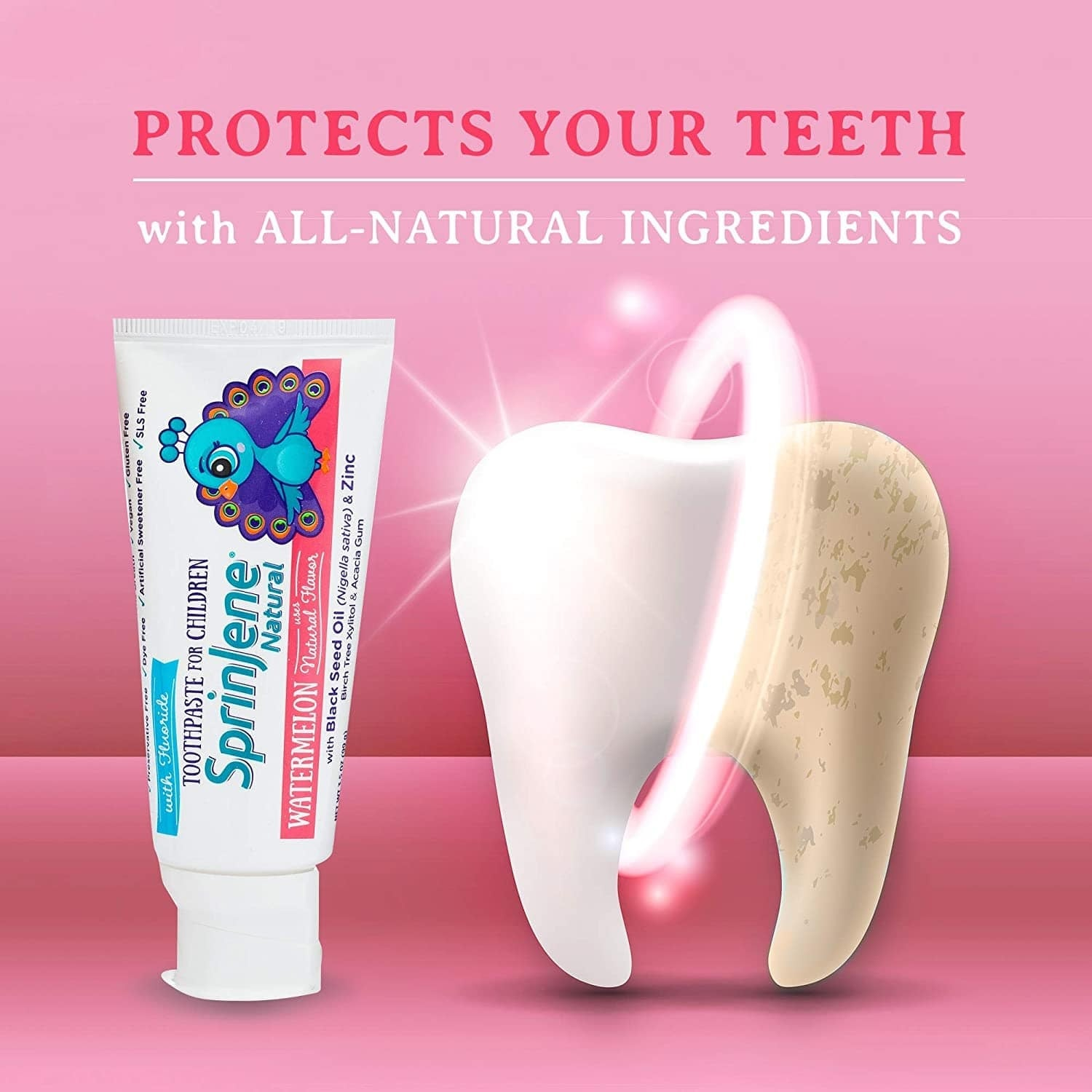 Natural Toothpaste Protects Your Teeth Naturally