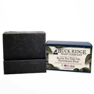 USDA Certified Organic Black Tea Tree Handmade Soap