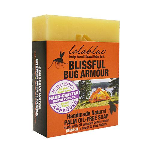 Blissful Bug Armour Insect Repelling Soap Bars