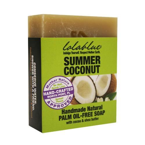 Summer Coconut Handmade All Natural Soap Bar