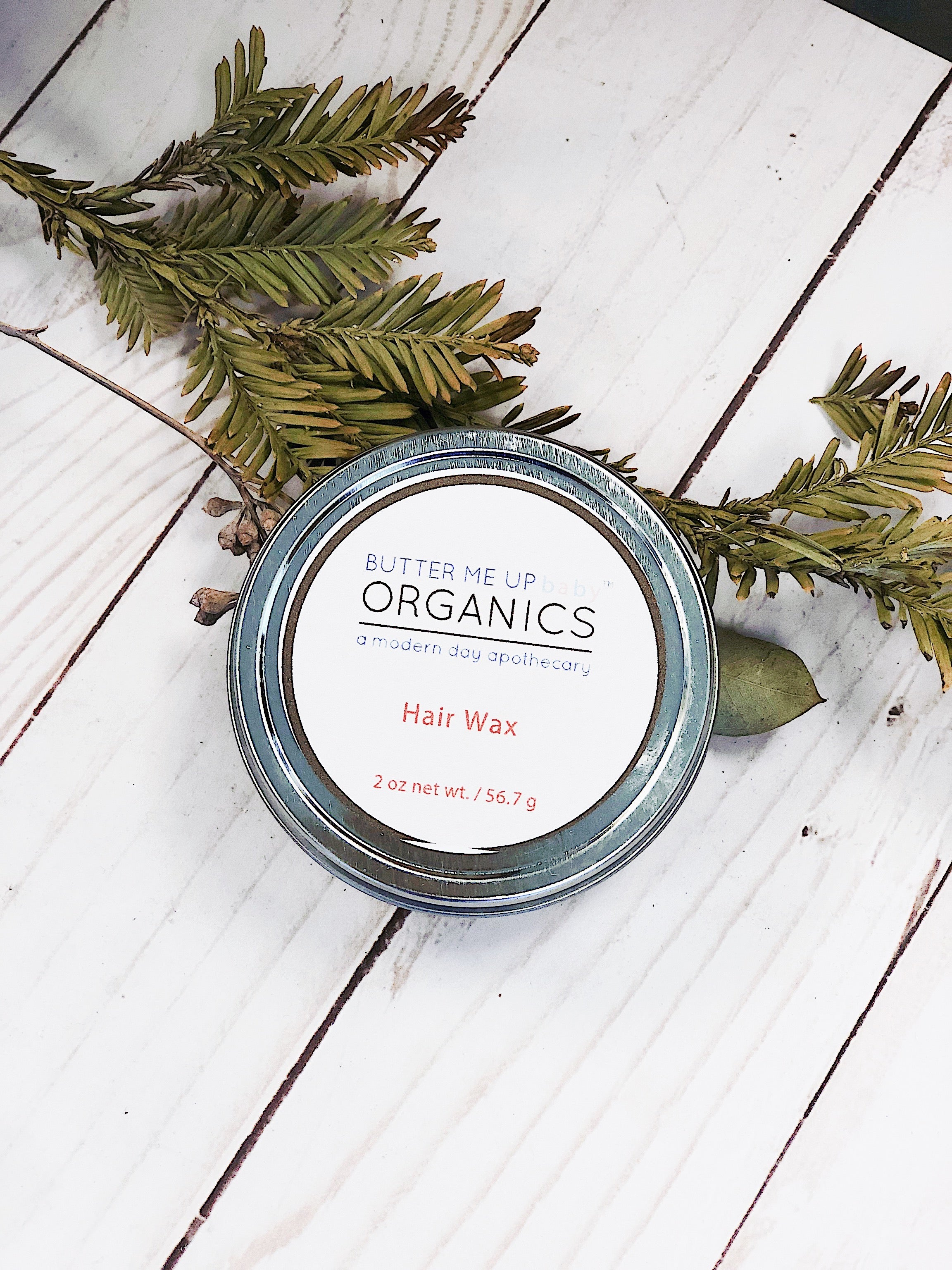 Organic Hair Wax for Styling