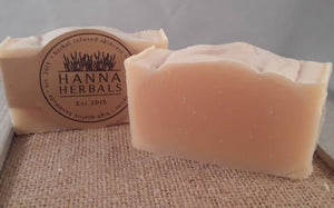 All-Natural Lemongrass Soap that is handmade