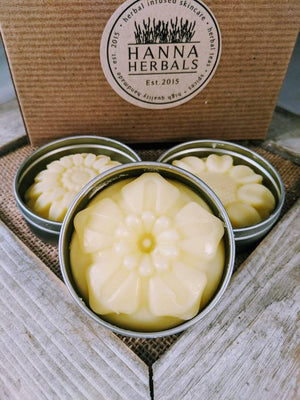 Solid Lotion Bar Shea Butter (multiple scented options)