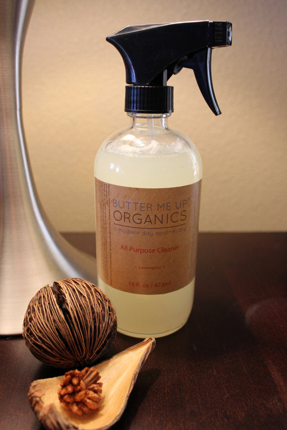 All-Purpose Spray Cleaners made with natural and organic ingredients