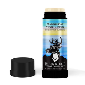 Madagascar Vanilla Bean Lotion Bar Stick