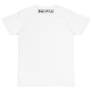 "100% Organic Cotton Tee ""Save the Planet Go Organic"" by Kinilly"