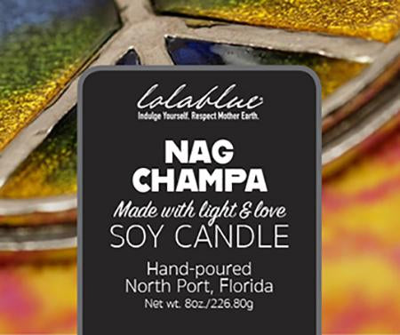 Nag Champa Natural Soy Candles & Wax Melts