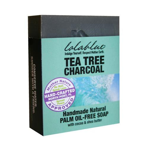 Tea Tree Charcoal All-Natural Soap
