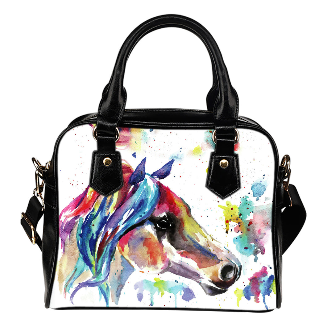 Watercolor Horse Handbag