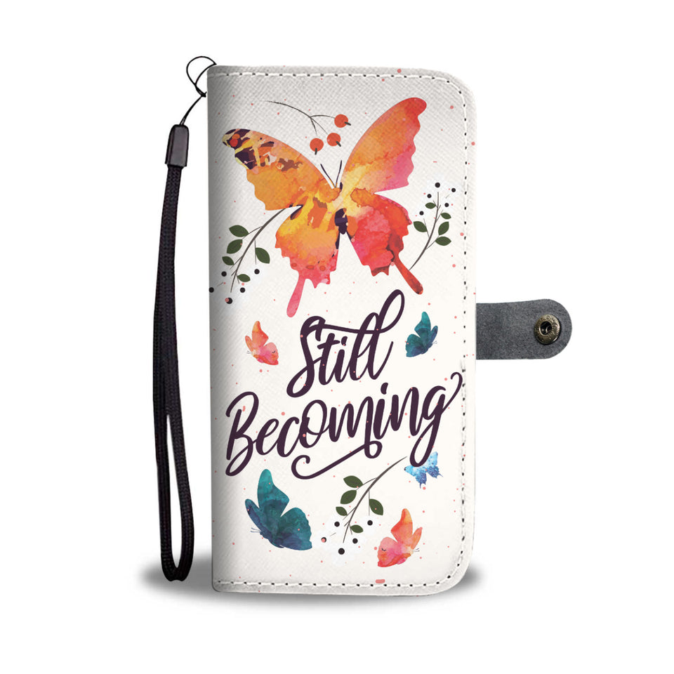 Butterfly - RFID Wallet Phone Case