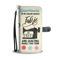 Quilting - RFID Wallet Phone Case