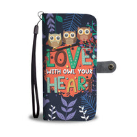 Owl - RFID Wallet Phone Case