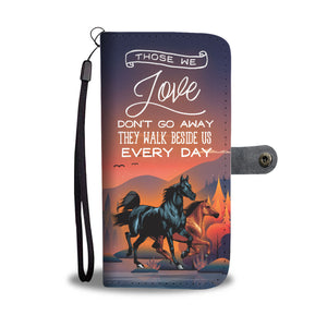 HORSE LOVER - RFID WALLET PHONE CASE