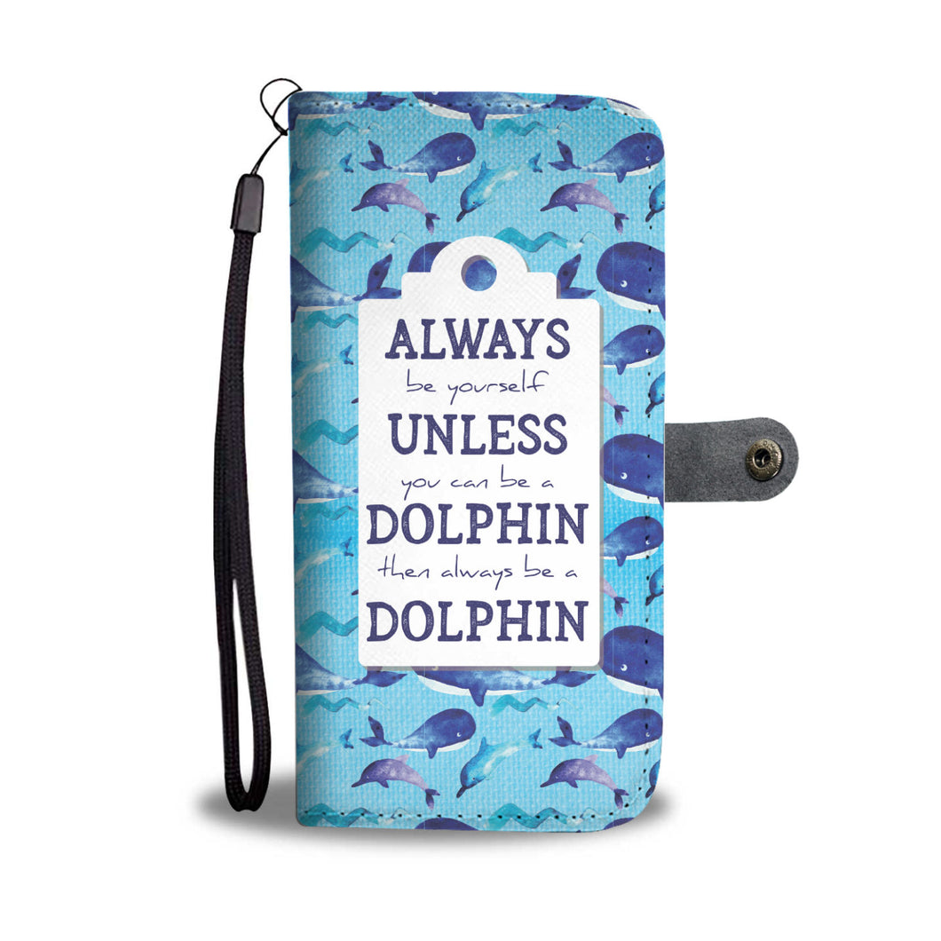Dolphin- RFID Wallet Phone Case