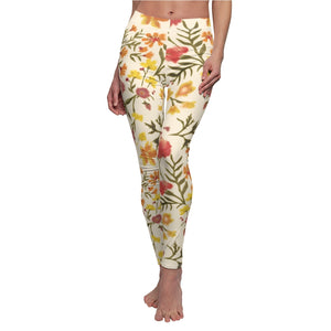 Original Floral Print Athletic Leggings