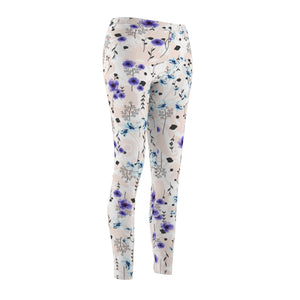 Mystique Floral Print Athletic Leggings