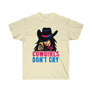 Cowgirls Don't Cry T-Shirt - Cowgirl - Concert Tee Shirt - Country T Shirt- Gift Tshirt Birthday - Cowboy Shirt